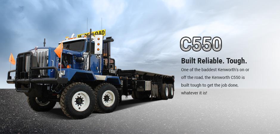Edmonton Kenworth C550