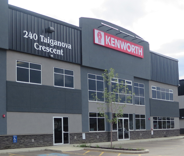 Edmonton Kenworth Fort McMurray Location