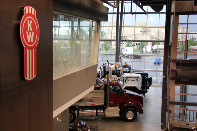 Edmonton Kenworth Leduc Location