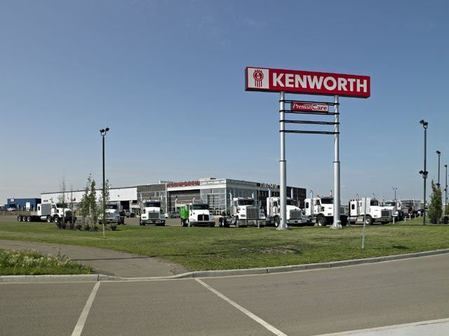 Edmonton Kenworth Lloydminster Location
