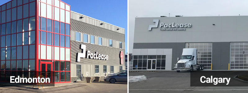PacLease Edmonton and Calgary